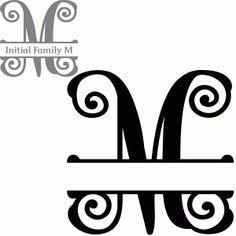 How to create a split letter monogram in Silhouette Studio