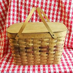 Picnic Baskets, Pie Cake, Wood Interiors, Everyday Items, Camden, Shelf, Pencil, Handle, Antiques