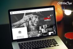 New Design OneWayTattoo.com #web #design #inspiration #responsive #tattoo