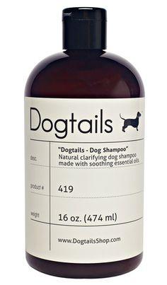 Dogtails Natural Dog Shampoo