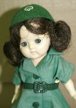 1950's Hard Plastic Ginny-type All original Girl Scout