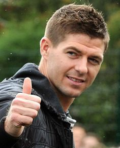 Steven Gerrard, look at that grin Liverpool Football Club, Liverpool Fc, Steven Gerrard Liverpool, Stevie G, France Football, Captain Fantastic, You'll Never Walk Alone, European Championships, Soccer World