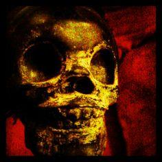 Shanty Hinge art Kevin Davies, Tattoo Art, Skull, Skulls, Sugar Skull, Ink Art