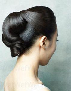 elegance - wedding hairstyle - updo - bridal