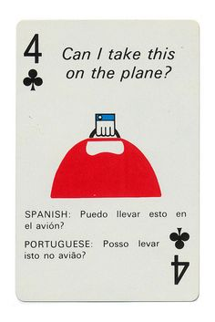 Alexander Girard, Braniff Airlines playing cards, c. 1968