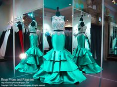 Jade Two Piece Mermaid Prom Dress