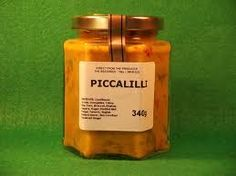 Piccalilli - It may look like vomit, but it tastes so goood in a ham sandwich