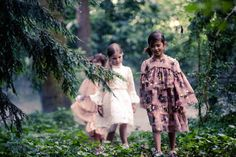 Beautiful H&M Studio collection dresses for Family Traveller magazine