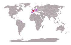 J'ai exploré 1.5% du monde #mytravelmap