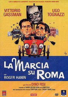 La Marcia su Roma è un film del 1962 diretto da Dino Risi - Sotto la veste tragicomica di una tipica commedia all'italiana in realtà il film presenta una precisa ricostruzione storiografica dell'avvento del fascismo.