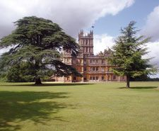 Highclere Castle, otherwise known as Downton Abbey.