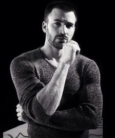 For the love of all that is holy....those forearms and that brooding look!!! Give me strength!!