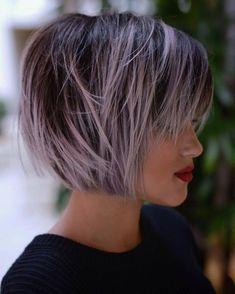 """Résultat de recherche d'images pour """"coiffure sur cheveux court femme couleurs gris blanc et noir"""""""