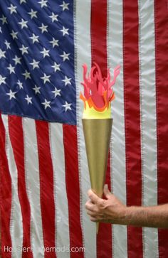 DIY OLYMPIC TORCH -