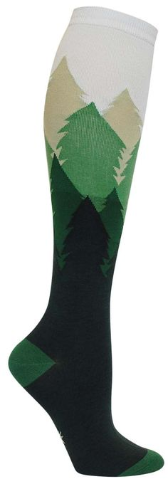 Fir Sure Colorful Novelty Knee High Socks for Women