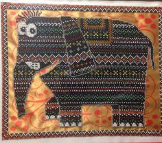 Вышивка бисером Слон Шанго