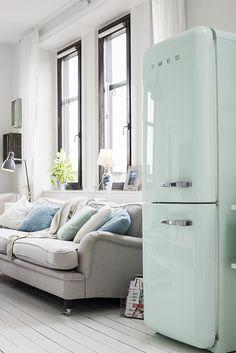 Un encantador apartamento de una habitación sueca