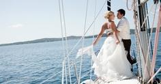 sailboat wedding croatia