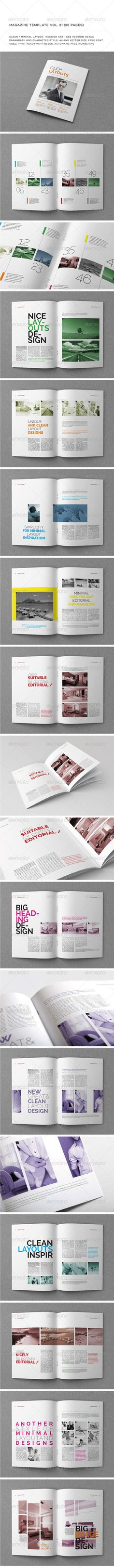 Indesign template vol 21 You can download this template here : http://graphicriver.net/item/a4letter-26-pages-mgz-vol-21/5798155?WT.oss_phrase=&WT.oss_rank=32&WT.z_author=Shafura&WT.ac=search_thumb
