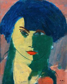 bofransson:  Otto Mäkilä 1904-1955 Ladies Portrait