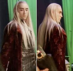 The One Ring Forums: Tolkien Topics: Movie Discussion: The Hobbit: Some Thranduil to get us through the day.... (Rowan Greene)