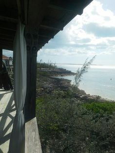 Bonefish Lodge deck