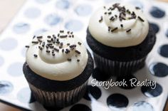 Laura @Brittany Meador Book Reality: The BEST Chocolate Cupcakes Ever (vegan, too!)