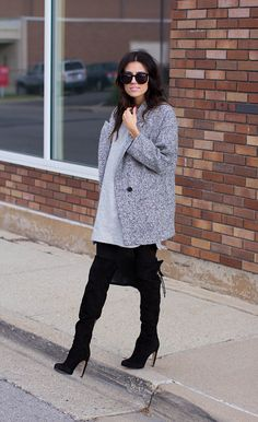 Hello Fashion: Black & Grey #sweepsentry