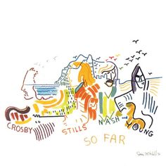 """Crosby, Stills, Nash and Young """"So Far"""" 1974 - one of the best albums of all time"""