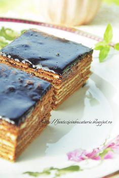 Marlenka cu cacao sau Tort Spartak - Fantezie in Bucatarie Sweets, Desserts, Food, Tailgate Desserts, Deserts, Gummi Candy, Candy, Essen, Goodies