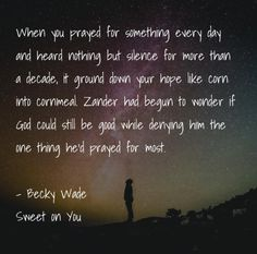 A Christian contemporary love story by Becky Wade