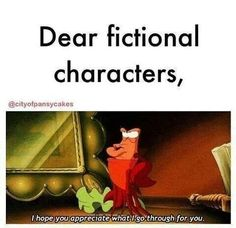 Dear fictional character