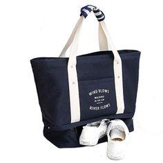 5f4313c010f 2017 Summer Autumn Women Folding Travelling Waterproof Tote Bag Female Large  Canvas Shoulder Bag travel Bag