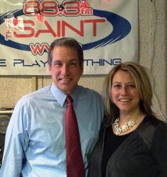 he's a top lobbyist and a baseball mom. Get an inside look at state government from Lisa Marrello tomorrow at 4:30 pm on FM 88.3.