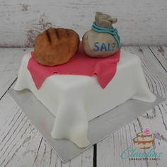 Torte zur Einweihung | Homewarming Cake Sugar, Cookies, Desserts, Sweet Cakes, Fondant Cakes, Bread, Birthday Cake Toppers, Salt, Wedding Pie Table