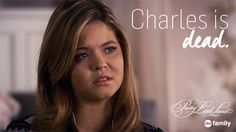 Do you think Charles is actually dead? | Pretty Little Liars GIFs