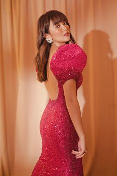 Ball Gown Dresses, Pageant Dresses, Kathryn Bernardo Outfits, Modern Filipiniana Gown, Plain Wedding Dress, Red Gowns, Elegant Prom Dresses, Gowns Of Elegance, Couture Dresses