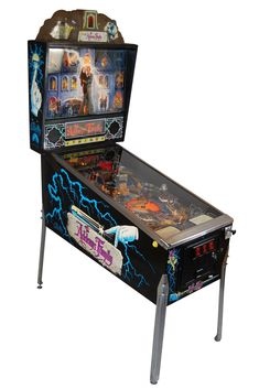 The Addams Family pinball machine is the best-selling pinball machine since the having sold units.