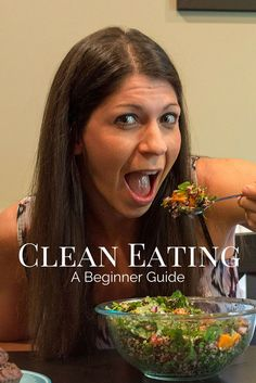 Clean Eating the way I look at food. Forget the fad diets and yo-yo weight gain. Learn how to enjoy food in a way that is sustainable long term. This beginners guide to clean eating will help you start that journey!