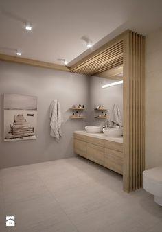 Łazienka - Duża łazienka w domu jednorodzinnym bez okna, styl nowoczesny - zdjęcie od TAKE [DESIGN]