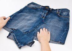 Was nicht passt, wird passend gemacht - Hose wird zu Rock