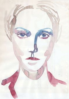 Looking at you - Samantha Hahn (2011)  #portrait #contemporary