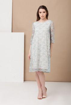 Rochie vernil larga din dantela DA-270 -  Ama Fashion White Dress, Dresses, Fashion, White Dress Outfit, Moda, Vestidos, Fashion Styles, Dress, Dressers