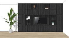 Maatwerk ontwerp voor meubels in 3D   Interieur design by nicole & fleur Garage Doors, Interior Design, Outdoor Decor, Home Decor, Nest Design, Decoration Home, Home Interior Design, Room Decor, Interior Designing
