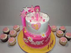 Stephanie (lazy town) cake