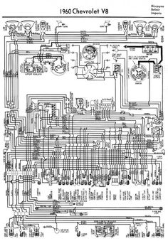 chevrolet impala 2 door sedan 1960 chevy 60 biscayne 2dr sedan electrical wiring diagram for 1960 chevrolet biscayne belair and impala