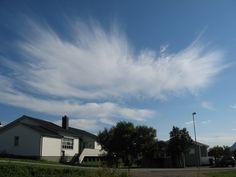 Cirrus spissatus cloud.