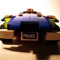 5 Lego Police Car, Usb Flash Drive, Usb Drive