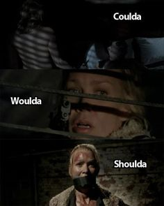 ..TWD-- Andrea! You could saved everyone a lot of stress!!!