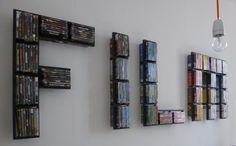 DVD-collection - awesome IKEA hack